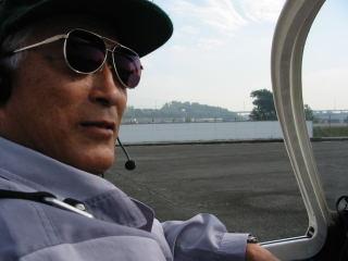 パイロットのH氏